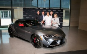 Toyota Delivers 'Global #1' GR Supra