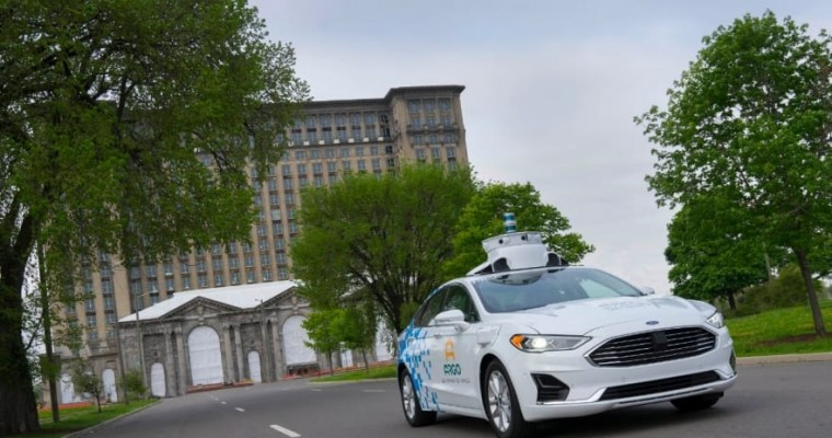 Third-Generation Ford Fusion Hybrid Autonomous Test Vehicle Revealed