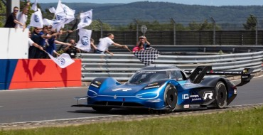 Volkswagen Prototype ID. R Sets New Electric Nürburgring Record