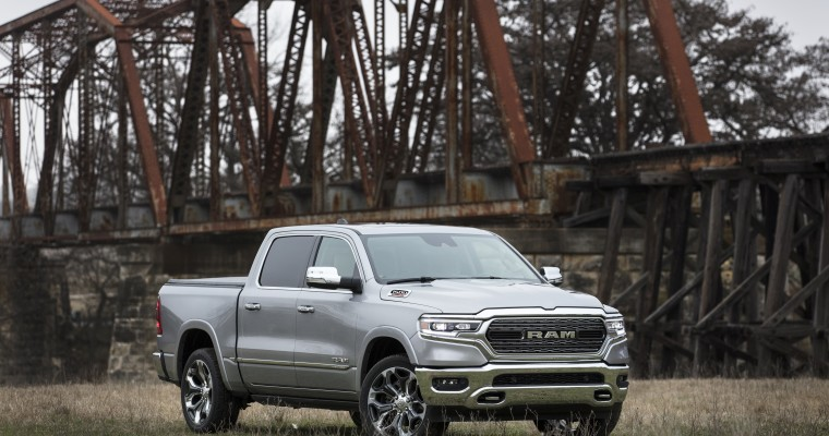 Consumer Guide Automotive Honors Ram 1500 and Chrysler Pacifica
