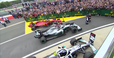 Hamilton Wins Exciting 2019 British GP