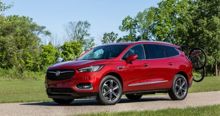 Buick Adds 3 New Color Options to the 2020 Enclave