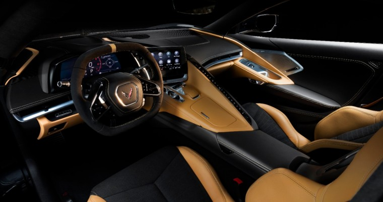 2020 Corvette's Interior Color Combinations and Seat Trim Choices