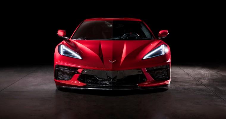 Hood of the 2020 Corvette Has Toothy Design