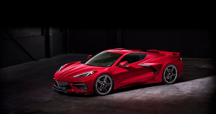2020 Corvette C8 Comes Loaded with Standard Features