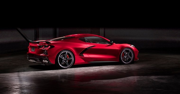 [PHOTOS] Chevy's Spectacular New Mid-Engine Corvette Stingray Was Worth the Wait