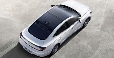 2020 Hyundai Sonata Hybrid Energized by Solar Roof