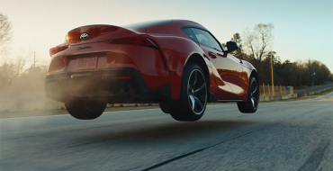 2020 Toyota Supra Catches Air in New Ad