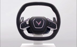Check Out the Steering Wheel on the 2020 Corvette Stingray