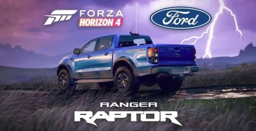 You Can Now Race the Ford Ranger Raptor in Forza Horizon 4