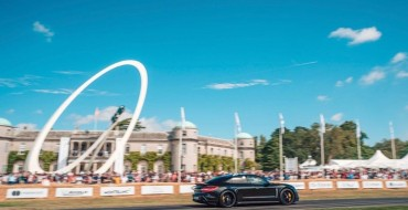 All-Electric Porsche Taycan to Appear at Goodwood Festival of Speed