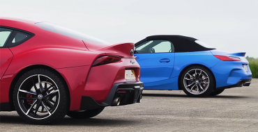 Toyota Supra Beats BMW Z4 in Drag Race