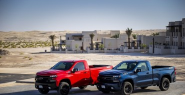 Middle East Gets Exclusive Silverado Regular Cab Models