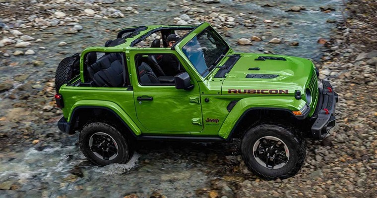 Jeep Wrangler Makes Top 10 List of Best Cars for Winter Driving