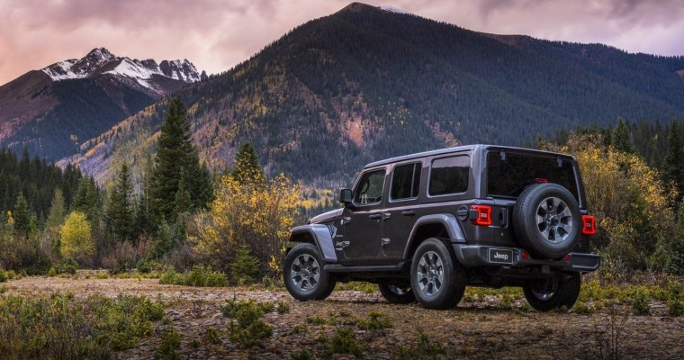 Jeep Wrangler Unlimited Earns Kudos for Cargo Space from US News
