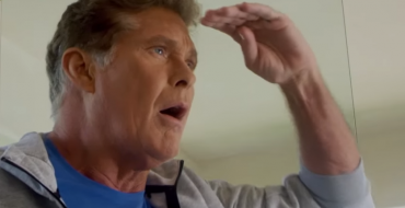 "The Hoff Promotes the BMW Summer Sales Event in True ""Baywatch"" Style"