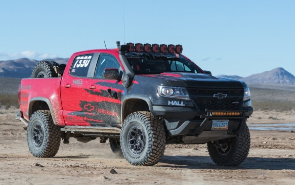 Check Out This Dune-Busting Chevrolet Colorado ZR2
