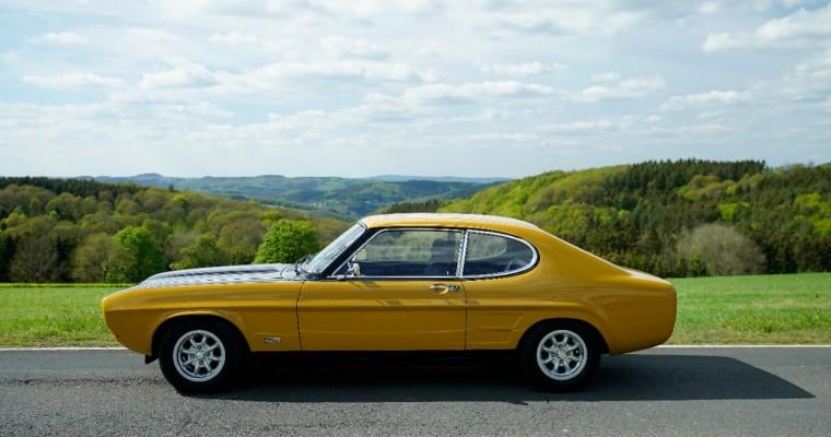 Celebrating 50 Years of the Beautiful Ford Capri