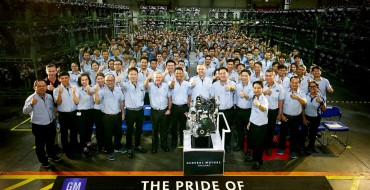 GM Powertrain Thailand Builds 500,000th Engine