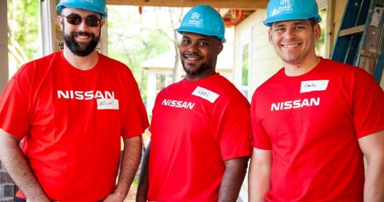 Nissan Donates $1 Million to Habitat for Humanity