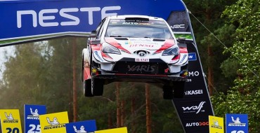 Toyota Wins Rally Finland, Again