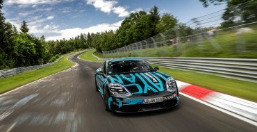 New Electric Porsche Taycan Sets New Record at Nürburgring
