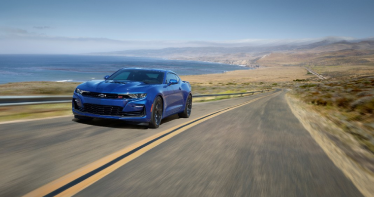 Hertz Now Offering High-Performance Camaro Rentals