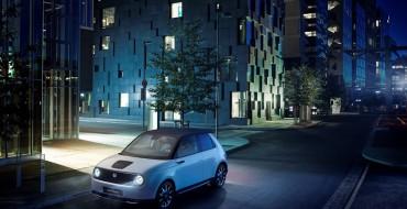 Honda E Production Model Debuts at Frankfurt Motor Show
