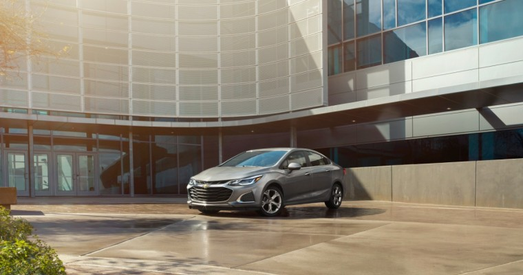 Chevy Cruze Named to US News' 2019 List of Best Cars for Short People