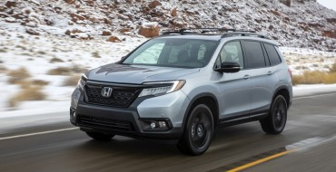 2019 Honda Passport Earns IIHS Top Safety Pick Rating