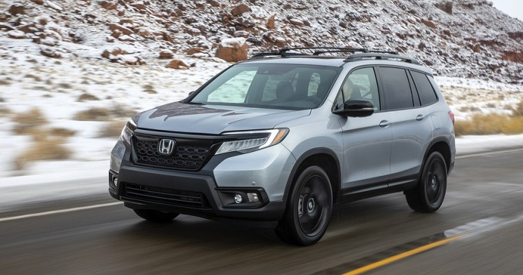 2019 Honda Passport Earns IIHS Top Safety Pick Rating