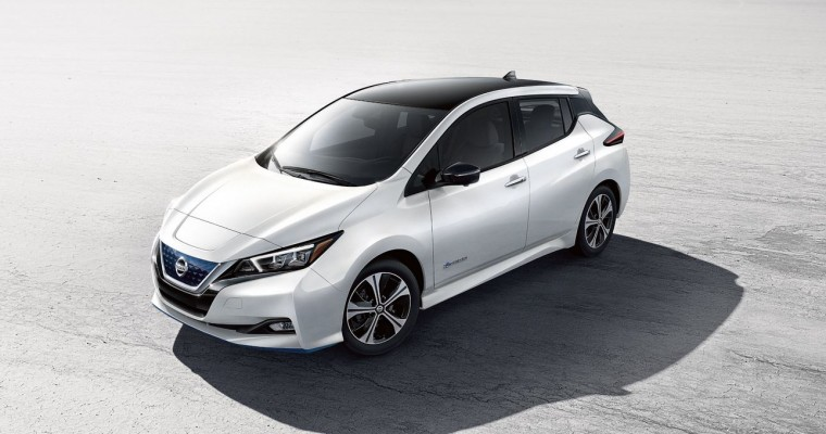 Nissan Supports Uber's Clean Air Plan with Zero-Emission Nissan LEAFs