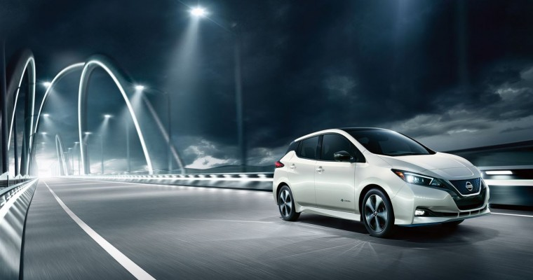 2020 Nissan Leaf Boasts New Tech and a Bigger Touch Screen