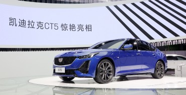 Cadillac CT5 Debuts in China at Chengdu Motor Show