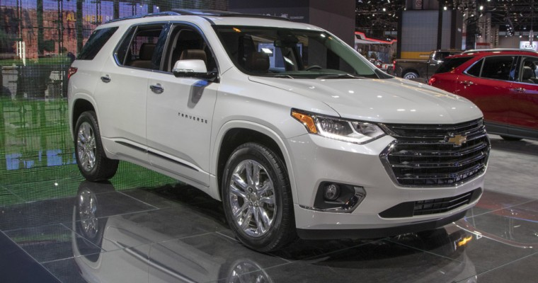 2020 Chevy Traverse Offers Stylish Blackout Package