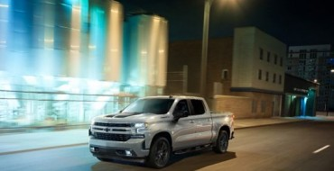 Customize 2020 Chevy Silverado 1500 with Midnight and Rally Editions