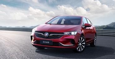 Redesigned Buick Verano Sedan Makes China Debut