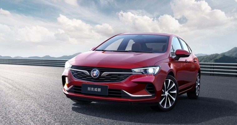 Redesigned Buick Verano Sedan Makes China Debut