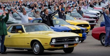 Parade of Mustangs Sets World Record in Europe