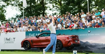 BMW Raises Money for the Education of Young Caddies at PGA Tournament