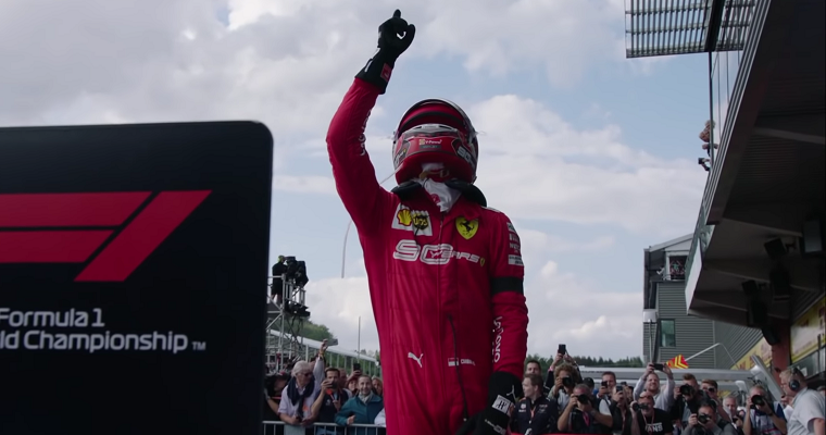 Charles Leclerc Takes Emotional Maiden Win at 2019 Belgian GP