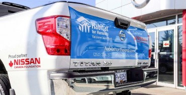 Habitat for Humanity Vancouver Island North Receives Vehicle Grant from Nissan Canada Foundation