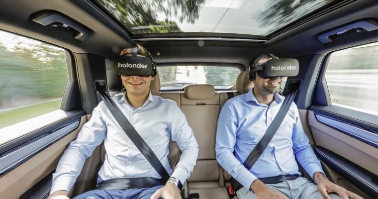 Porsche Sees VR As the Next Gen of In-Car Entertainment