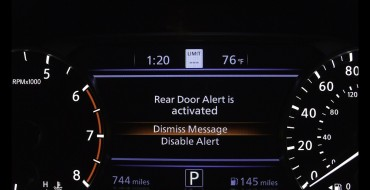 Nissan Rear Door Alert Can Honk to Remind You to Check Your Back Seat