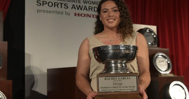 UCLA Softball Pitcher Rachel Garcia Wins 2019 Honda Cup