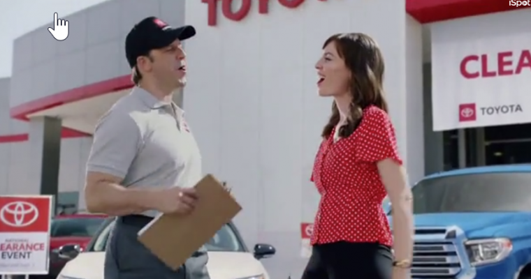 Is That Laurel Coppock Singing in the New Toyota Jan Commercial?