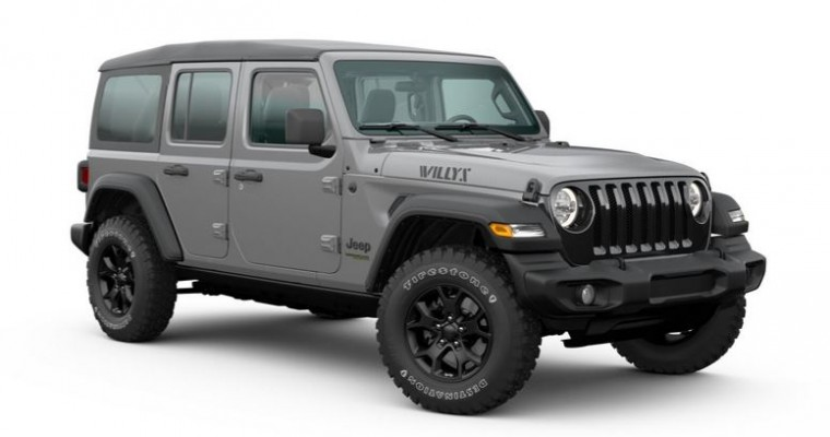 Jeep Wrangler Freedom Pays Tribute to U.S. Military