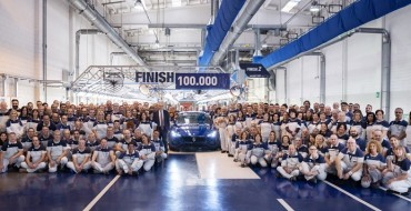 Maserati Celebrates Production of 100,000th Ghibli Sports Sedan