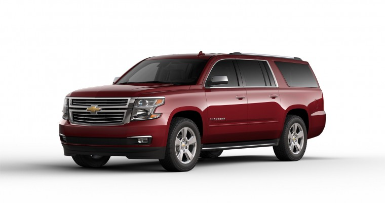 Chevy Wants the Suburban to be the Official Car of Texas