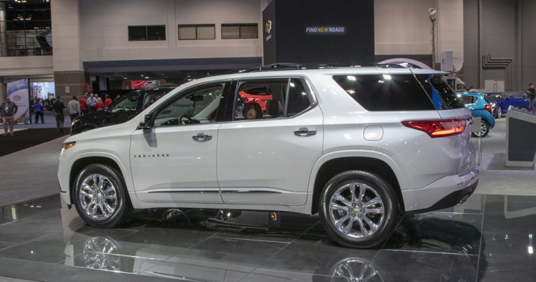 Chevy Traverse Takes Top Spot on US News' List of the 13 Most Comfy SUVs in 2020